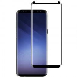 """""""Mocolo"""" Tempered Glass apsauginis ekrano stiklas 0.26 mm - juodas + pagalbinis rėmelis (Galaxy S9)"""