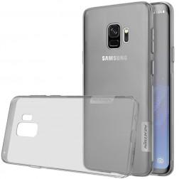 """""""Nillkin"""" Nature TPU skaidrus dėklas - pilkas (Galaxy S9)"""