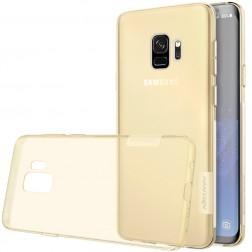 """""""Nillkin"""" Nature TPU skaidrus dėklas - rudas (Galaxy S9)"""