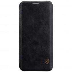 """""""Nillkin"""" Qin atverčiamas dėklas - juodas (Galaxy S9)"""