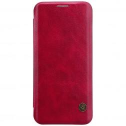 """""""Nillkin"""" Qin atverčiamas dėklas - raudonas (Galaxy S9)"""