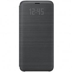 """""""Samsung"""" Led View Cover atverčiamas dėklas - juodas (Galaxy S9)"""