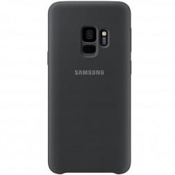 """""""Samsung"""" Silicone Cover dėklas - juodas (Galaxy S9)"""