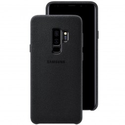 """Samsung"" Alcantara Cover dėklas - juodas (Galaxy S9+)"
