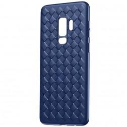 """""""Baseus"""" Weaving dėklas - mėlynas (Galaxy S9+)"""