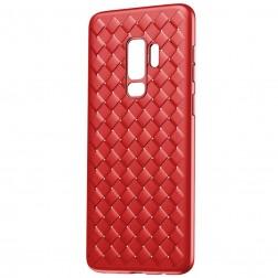 """""""Baseus"""" Weaving dėklas - raudonas (Galaxy S9+)"""