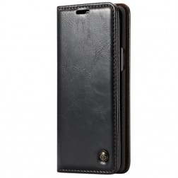 """""""CaseMe"""" solidus atverčiamas dėklas - juodas (Galaxy S9+)"""