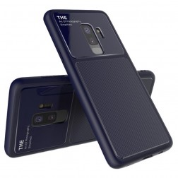 """Lenuo"" Lens dėklas - mėlynas (Galaxy S9+)"