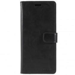 """""""Mercury"""" Bravo Diary atverčiamas dėklas - juodas (Galaxy S9+)"""