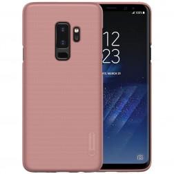 """""""Nillkin"""" Frosted Shield dėklas - rožinis + apsauginė ekrano plėvelė (Galaxy S9+)"""