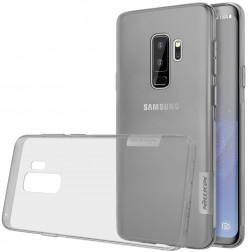 """""""Nillkin"""" Nature TPU skaidrus dėklas - pilkas (Galaxy S9+)"""