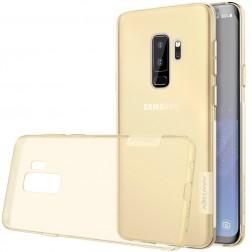 """""""Nillkin"""" Nature TPU skaidrus dėklas - rudas (Galaxy S9+)"""