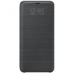"""""""Samsung"""" Led View Cover atverčiamas dėklas - juodas (Galaxy S9+)"""