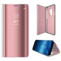 Plastikinis atverčiamas dėklas - rožinis (Galaxy S9+)