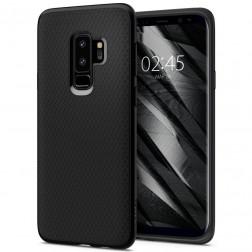 """""""Spigen"""" Liquid Air dėklas - juodas (Galaxy S9+)"""