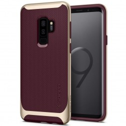 """Spigen"" Neo Hybrid dėklas - bordo (Galaxy S9+)"
