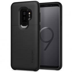 """Spigen"" Slim Armor CS dėklas - juodas (Galaxy S9+)"