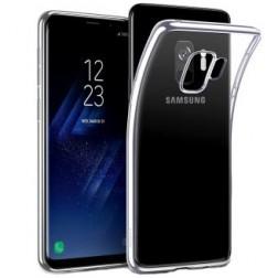 Kieto silikono (TPU) dėklas - skaidrus (Galaxy S9)