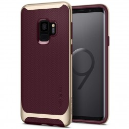 """Spigen"" Neo Hybrid dėklas - bordo (Galaxy S9)"