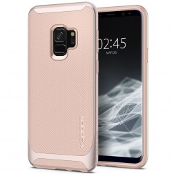"""Spigen"" Neo Hybrid dėklas - rožinis (Galaxy S9)"