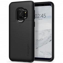 """Spigen"" Slim Armor CS dėklas - juodas (Galaxy S9)"