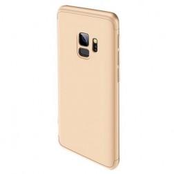 """Thin Fit 360"""" plastikinis dėklas - auksinis (Galaxy S9)"""