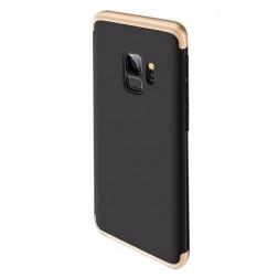 """Thin Fit 360"""" plastikinis dėklas - juodas / auksinis (Galaxy S9)"""