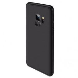 """Thin Fit 360"""" plastikinis dėklas - juodas (Galaxy S9)"""