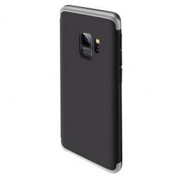 """Thin Fit 360"""" plastikinis dėklas - juodas / sidabrinis (Galaxy S9)"""