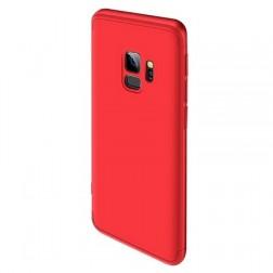 """Thin Fit 360"""" plastikinis dėklas - raudonas (Galaxy S9)"""