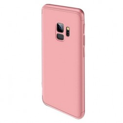"""Thin Fit 360"""" plastikinis dėklas - rožinis (Galaxy S9)"""