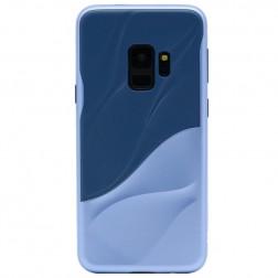 """3D"" Wave Pattern dėklas - mėlynas (Galaxy S9)"