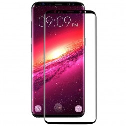 """""""Mocolo"""" Tempered Glass apsauginis ekrano stiklas 0.26 mm - juodas (Galaxy S9+)"""