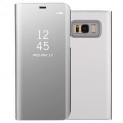 Plastikinis atverčiamas dėklas - sidabrinis (Galaxy S8)