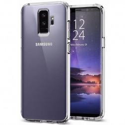 Kieto silikono (TPU) dėklas - skaidrus (Galaxy S9+)