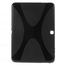 Kieto silikono (TPU) dėklas - juodas (Tab 4 10.1)