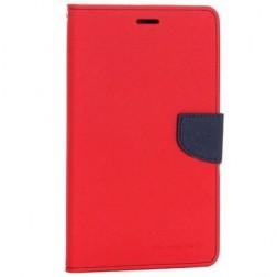 """""""Mercury"""" Fancy atverčiamas dėklas - raudonas (Galaxy Tab 4 7.0)"""