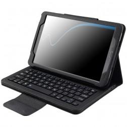 Atverčiamas dėklas su klaviatūra - juodas (Galaxy Tab A 10.1 2016)
