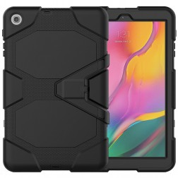 Sustiprintos apsaugos dėklas - juodas (Galaxy Tab A 10.1 2019)