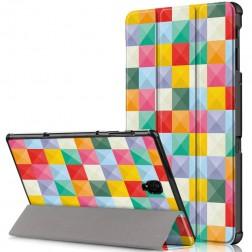 """""""Cubes"""" atverčiamas dėklas (Galaxy Tab A 10.5 2018)"""