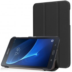 Atverčiamas dėklas - juodas (Galaxy Tab A 7.0 2016)