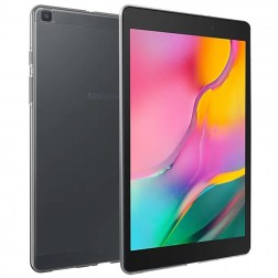 Kieto silikono (TPU) dėklas - skaidrus (Galaxy Tab A 8.0 2019)