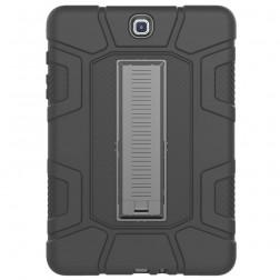 Sustiprintos apsaugos dėklas - juodas (Galaxy Tab A 9.7)