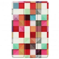 """""""Cubes"""" atverčiamas dėklas (Galaxy Tab A7 10.4 2020)"""