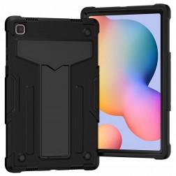Sustiprintos apsaugos dėklas - juodas (Galaxy Tab A7 10.4 2020)