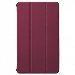 Atverčiamas dėklas - bordo (Galaxy Tab A7 Lite 8.7)