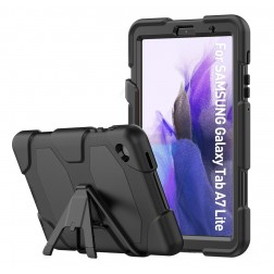 Sustiprintos apsaugos dėklas - juodas (Galaxy Tab A7 Lite 8.7)