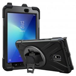 Sustiprintos apsaugos dėklas - juodas (Galaxy Tab Active 2 8.0)