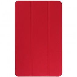 Atverčiamas dėklas - raudonas (Galaxy Tab E 9.6)