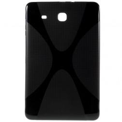 Kieto silikono (TPU) dėklas - juodas (Galaxy Tab E 9.6)